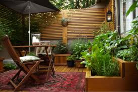 Vegetable Garden On A Deck