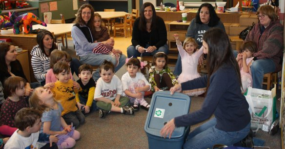 Rodef Shalom Preschool Worm Composting Workshop